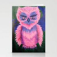 Who Gives A Hoot! Stationery Cards