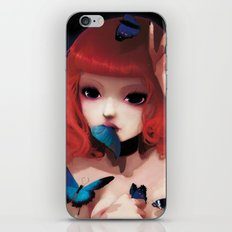 Chew my blue... iPhone & iPod Skin