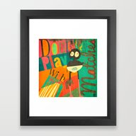 Dont Play With Matches Framed Art Print