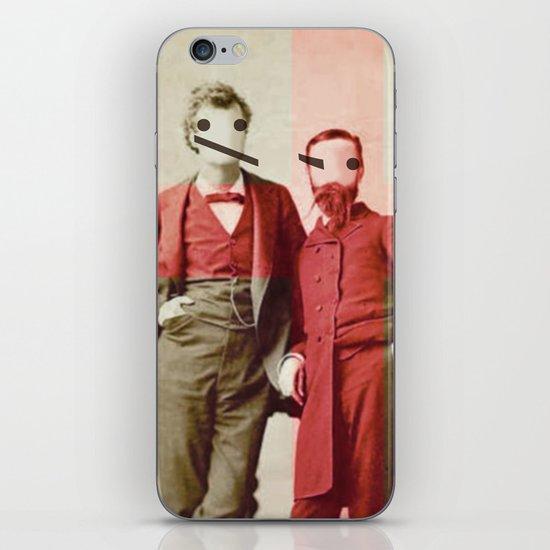 the backslash brothers iPhone & iPod Skin