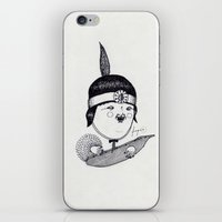 Apache Kid iPhone & iPod Skin