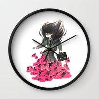 Nature vs Nurture 2 Wall Clock