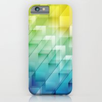 iPhone & iPod Case featuring Cuboid 1950 by Helen Kaur