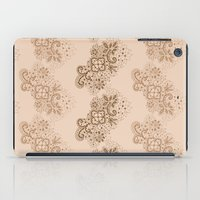 Brown Lace iPad Case
