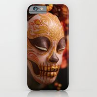Pumpkin Harvest Muertita Detail iPhone 6 Slim Case