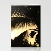 PALM PARADISE Stationery Cards