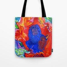 Japanese Poppy No.9  Tote Bag