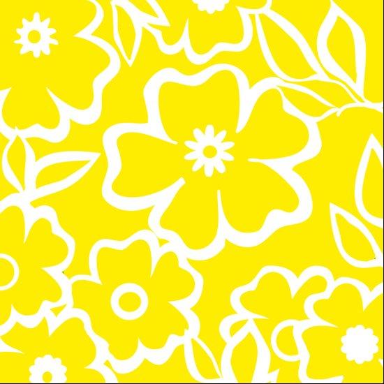 Yellow Flowers Fullfilled Art Print