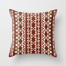Hoosiers (Crimson) Throw Pillow
