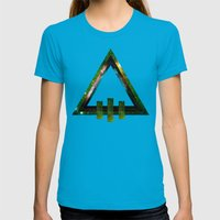 Dead Throne Womens Fitted Tee Teal SMALL