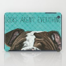 English Bulldog Print iPad Case