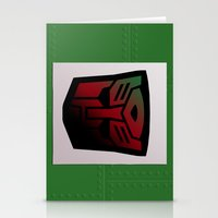 Transformers Generation 1: Rub Sign: Autobot Stationery Cards