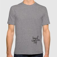 Brazil World Cup 2014 - … Mens Fitted Tee Tri-Grey SMALL