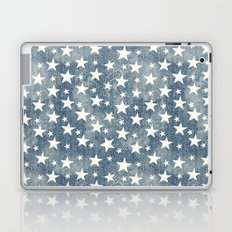 Stars with denim effect Laptop & iPad Skin