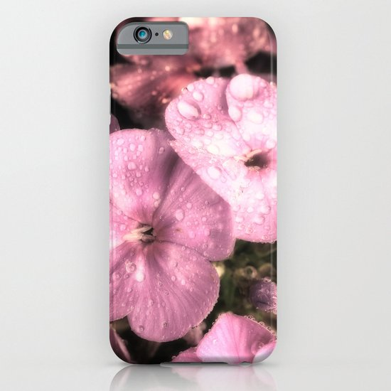 Soft rain drops iPhone & iPod Case