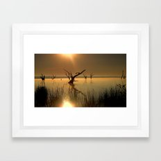Worshipping Nature Framed Art Print