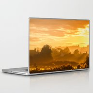Golden Haze Laptop & iPad Skin