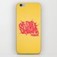 Just An Average Punch iPhone & iPod Skin