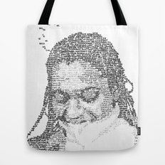 Words on the Subject Tote Bag