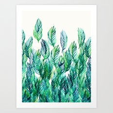 Jungle Rising  Art Print