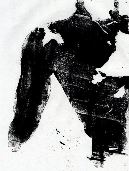 Body Language Art Print