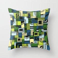 Saturdaze Throw Pillow