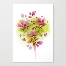Fleur Tree Canvas Print