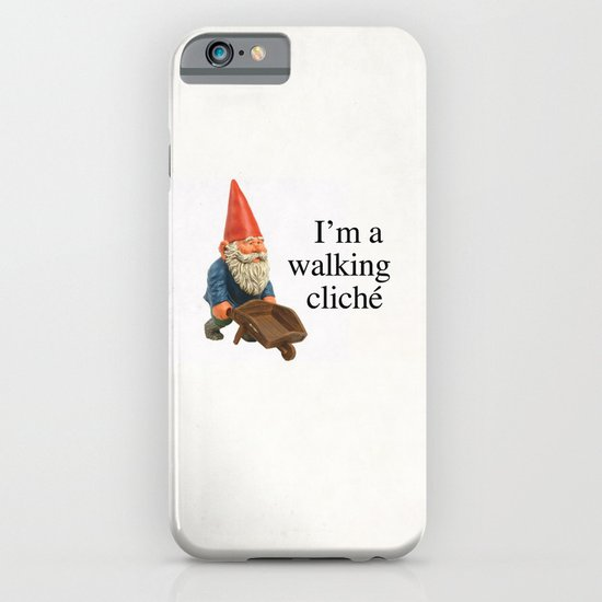 Walking Cliché iPhone & iPod Case