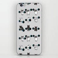 OLYMPIC LIFTING FRENCHIE iPhone & iPod Skin