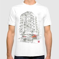 I Love Hong Kong Mens Fitted Tee White SMALL