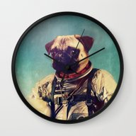 Wall Clock featuring A Point To Prove by Rubbishmonkey