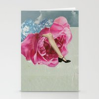 Rose Legs Stationery Cards