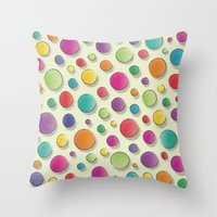 The Early Summer Holiday Throw Pillow