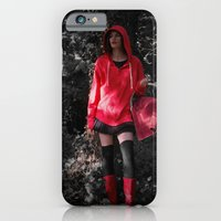 red in the hoodie iPhone 6 Slim Case