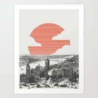 Goodnight London Art Print