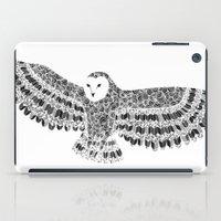 Black And White Barn Owl… iPad Case
