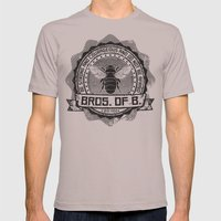 Bros. of B. Light Mens Fitted Tee Cinder SMALL