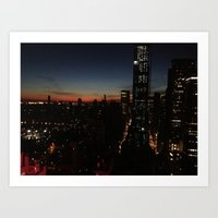 NY sight Art Print