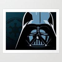Dark Lord Art Print