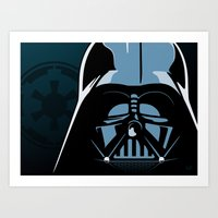 Dark Lord Art Print