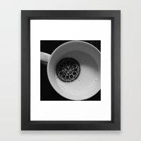 twist. lick. dunk. Framed Art Print