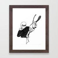 L'Heure H Framed Art Print