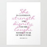 The Beauty Of A Woman Art Print