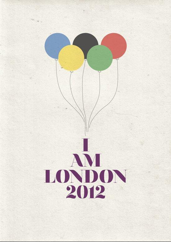 I Am London2012 Art Print