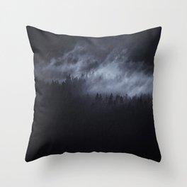 Throw Pillow - Light Shining Darkly - Tordis Kayma