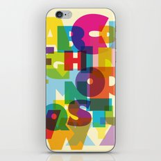 ABC in colour iPhone & iPod Skin