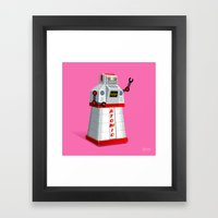 Madame Atomique Framed Art Print