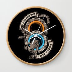STAR PORTALS Wall Clock