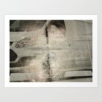 Urban Abstract 98 Art Print