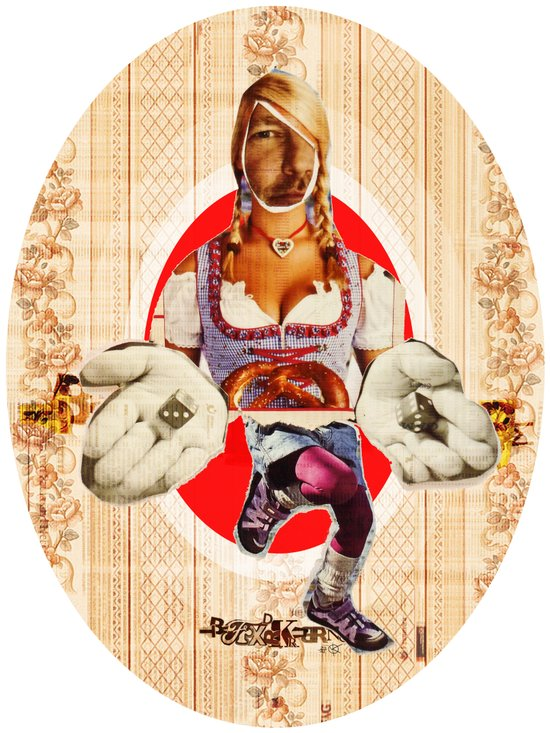 Volkstanz Buam Art Print